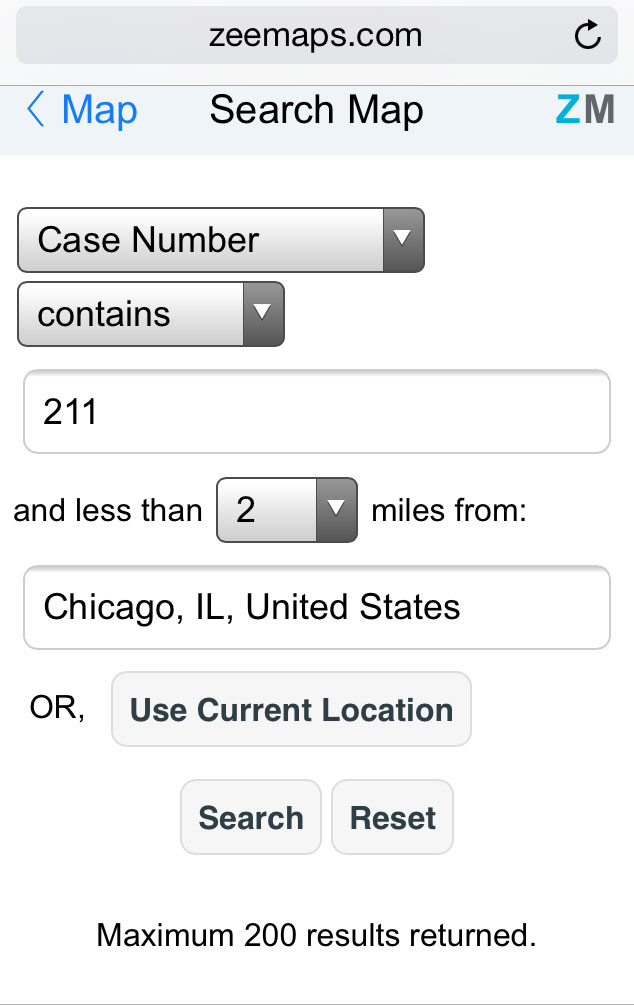 Customized Search for Driving Directions