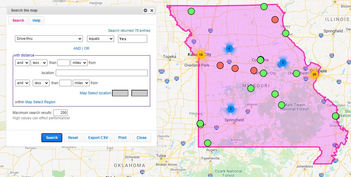 Select & Summarize Points in a Boundary or Region - ZeeMaps Blog